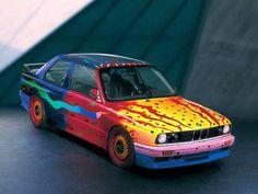 1989 BMW M3 E30 Art Car by Ken Done