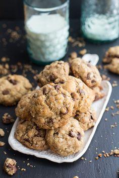 Best Oatmeal Chocolate Chip Cookies Around | halfbakedharvest.com