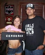 Girls Gone Wild - funny Halloween costume idea for couples