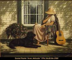 Original acrylic painting on canvas by Daniel Plante multi-art.net/... #danielplante #art #artist #canadianartist #quebecartist #blacklabandwoman#hyperrealism #originalpainting #acrylic #balcondart #multiartltee