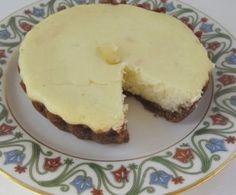 Lemon Ginger Ricotta Cheesecake Tartlets - perfect for Shavuot.