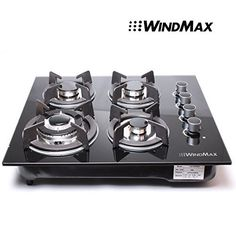 !!! NEW ARRIVAL !!!24' Black Electric Tempered Glass Built-in Kitchen 4 Burner Gas Hob Cooktop >>> This is an Amazon Affiliate link. Be sure to check out this awesome product.