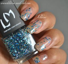 Featuring LM COSMETIC Lilirose Nail Art