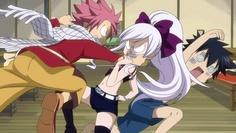 Fairy Tail, Natsu, Mirajane, and Gray. I <3<3<3<3<3<3<3<3<3<3<3<3<3<3<3<3<3<3<3<3<3<3<3<3<3<3<3 fairy Tail!!!!