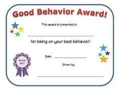 Taking turns award certificate for kids. Recognize a child for waiting their turn with this printable taking turns certificate for All Kids Network. Preschool Certificates, Free Printable Certificates, Award Certificates, Certificate Templates, Certificate Design, Kids Awards, Student Awards, Behavior Rewards, Award Template