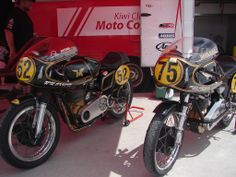 Two lovely Matchless G50