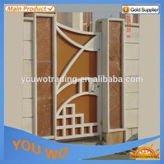Source YY construction provide aluminum high quality house gate designs,meet Australia,Canada and USA strandard on m.alibaba.com