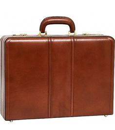 Coughlin 80464 leather briefcase