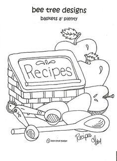 Recipes - baskets a'plenty - by bee tree designs via Flickr