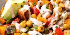 Soup Recipes, Salad Recipes, Vegan Recipes, Vegan Meals, Banana Oat Bread, Sweet Potato Breakfast Hash, Vegan Stuffed Peppers, Vegan Coleslaw, Vegan Blueberry