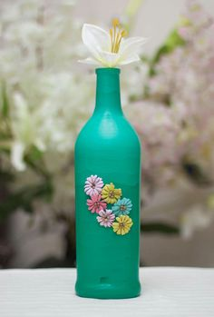 Glass Bottle Decorations Easy And Simple Bottle Decoration Ideas  My Bottle Decoration