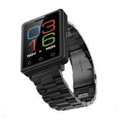 No. 1 g7 smart watch mtk2502 1.54 pulgadas bluetooth 4.0 monitor del ritmo cardíaco del podómetro sleep monitor de gsm smartwatch para android ios