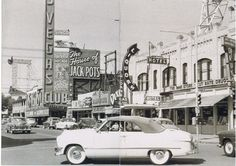 Downtown Las Vegas, c. 1954