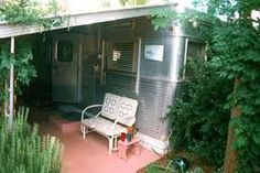 spartan travel trailer being used as a full time home