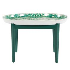 Bjorn Wiinblad Ceramic Oval Tray Table   1stdibs.com