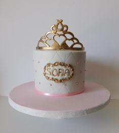 Baby princess cake Baby Princess, Fondant, Cakes, Baking, Girls, Inspiration, Design, Art, Bread Making