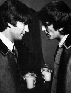 John and George got milk!