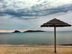 Agathopes beach ::: Syros island ::: Cyclades, Greece Homeland, Islands, Summertime, Art Photography, Patio, Sky, Spaces, Mood, Studio