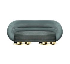 MANSFIELD Sofa | Essential Home | #midcenturymodernsofa #velvetsofa #velvetsofas See more: https://www.brabbu.com/en/all-products.php
