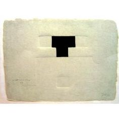 Eduardo Chillida (1924-2002), Untitled (?). Etching. 21cm H x 25cm W. Edition of 50 copies.