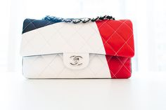 Chanel bags 2014 new spring line. The blonde in the pic.