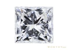 GIA 1.02 CT Princess Cut Solitaire Ring Sold at Auction for $2,409