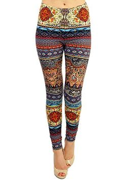 Only your wallet will know these are not LulaRoe Leggings. Fire and Water Paisley printed leggings by VIV Collection - cutest print in the collection!!