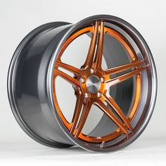 The Forgeline SC3C-SL (Concave Stepped Lip) finished with the new Transparent Copper powder coat on the center and the almost-new Transparent Smoke powder coat on the outer and inner. Learn more about the Transparent Copper finish at: http://www.forgeline.com/products/accessories-finishes/center-and-monoblock-finishes/c-transparent-copper.html
