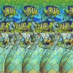 Behind the glass. #stereogram #hidden3d #stereo #stereoscopic #seethrough #stereoview #autostereogram