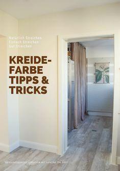 Wandfarbe Streichen In Der Küche. Kreidefarbe Für Wände, Holz Und Mehr.  Test, Tipps Und Tricks Und Ideen