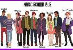 Magic School bus-I love this show!