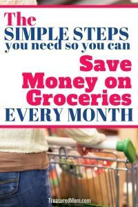 Learn how to save money on groceries as part of your frugal living plan. These ideas show you that you can shop without coupons and keep your family on a healthy budget. Living On A Budget, Frugal Living, Household Expenses, Easy Meal Plans, Save Money On Groceries, Cooking On A Budget, Frugal Meals, Money Saving Tips, Extra Money