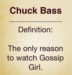 Actually, this should say Chuck Bass and Blair Waldorf.