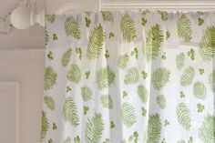 Ferns and Berries Curtain by Lindsay Megahed   Minted