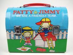 Sanrio Vintage Patty and Jimmy Tin Lunch Box | eBay