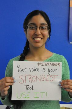 Your voice is your strongest tool.  USE IT!  | Sikhpoint.com