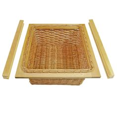 These wicker baskets are designed to be installed inside of 400, 500 or 600mm kitchen cabinets with 18mm carcases. They make a very good accessory to any kitchen. They can also be used in children's bedrooms, offices, studies, the list is endless.   eBay!