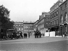 St James Square, London 1910 - Monty's home