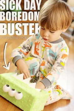 Sick Day Boredom Buster for Kids!
