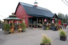 """Berlin Village Gift Barn As quoted in Amish Heartland Magazine, Berlin Village Gift Barn is """"THE place for home décor and tasteful garden items. Produce Stand, Produce Displays, Berlin Ohio, Amish Country Ohio, Holmes County, The Buckeye State, Old Country Stores, Garden Items, Luxor Egypt"""