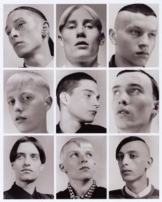"""yamamamo: """" """"Isolated Heroes is the result of a collaboration between photographer David Sims and designer Raf Simons. Taken in the summer of 1999 the portraits are of non professional models street. David Sims, Berghain, Raf Simons, Francis Wolff, Portrait Photography, Fashion Photography, Fun Workouts, Fitness Workouts, Fitness Bike"""