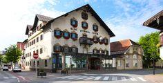 Reutte, Austria - Hotel Goldener Hirsch
