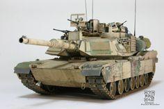 Weathered tank