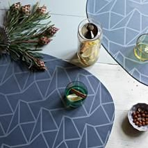 The unique and timeless design originate from an extensive collection and non-produced sketches, Arne Jacobsen, Placemat, Timeless Design, Damask, Home Accessories, Scandinavian, Coasters, Dining Room, Sketches