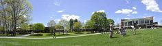 Summertime Panorama of Skidmore College in Saratoga Springs, NY by Melissa Cohn '13