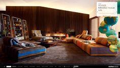 Roche Bobois Voyage Immobile modular sofas/chairs- collection Nouveaux Classiques
