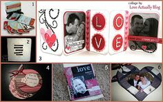 Mini love albums - perfect gift for Valentines day