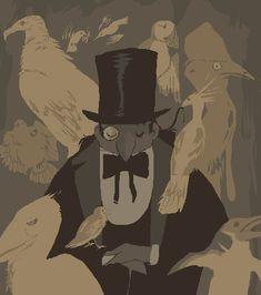 father bird by Spoonfayse on DeviantArt Gotham Series, Gotham Tv, Dc Comics, Comics Story, Gotham Villains, Comic Villains, Rainbow Gif, Bob Kane, Penguin Art