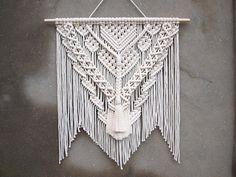 "Image of Macrame wall hanging ""Amber"". Free shipping"