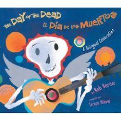 Bilingual book. Dia de los Muertos. for kids